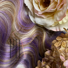 Lavender Frost Wavy PDX Hair Extensions