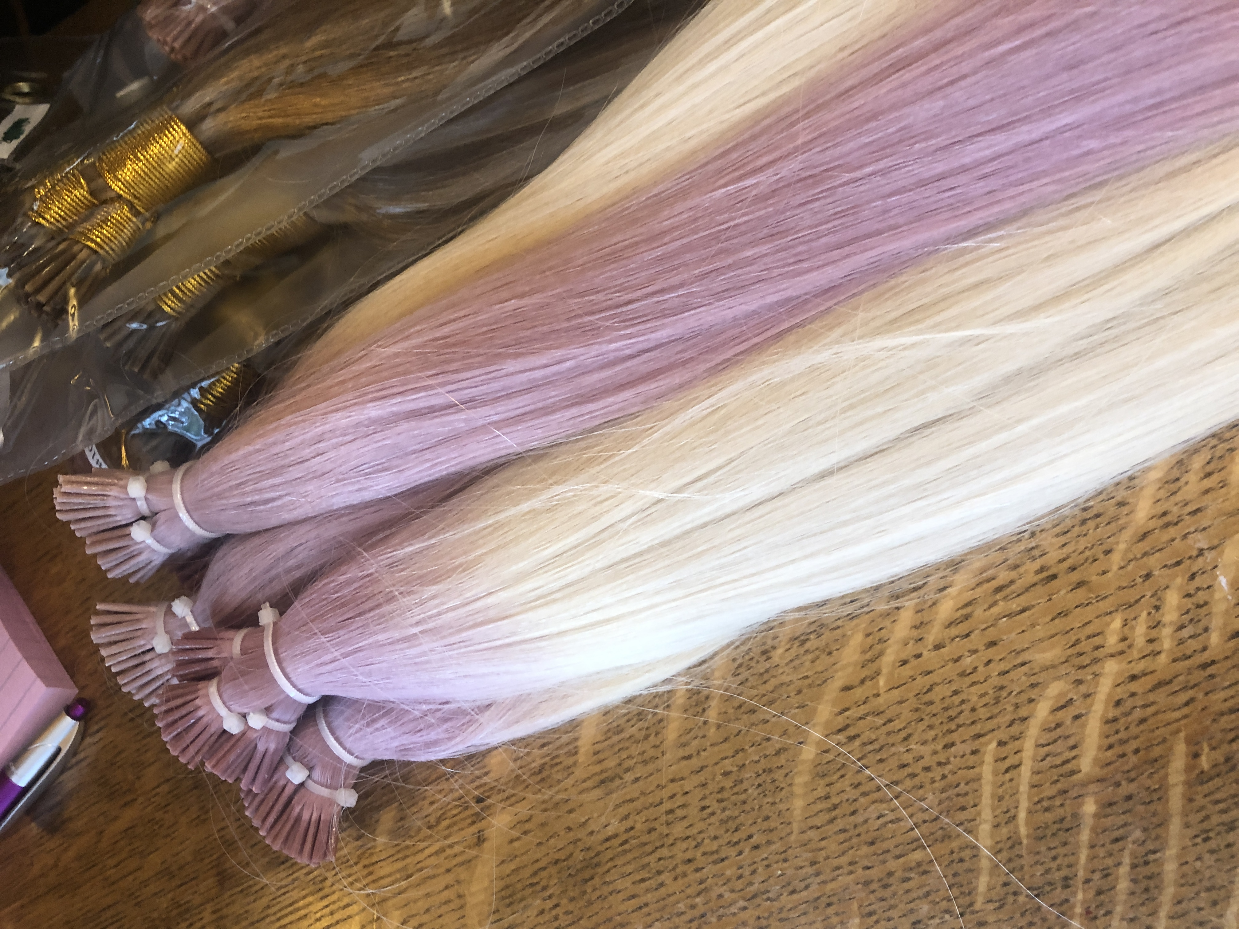 Lavender Vanilla Custom Colored