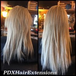 Blonde Color Correction + Extensions