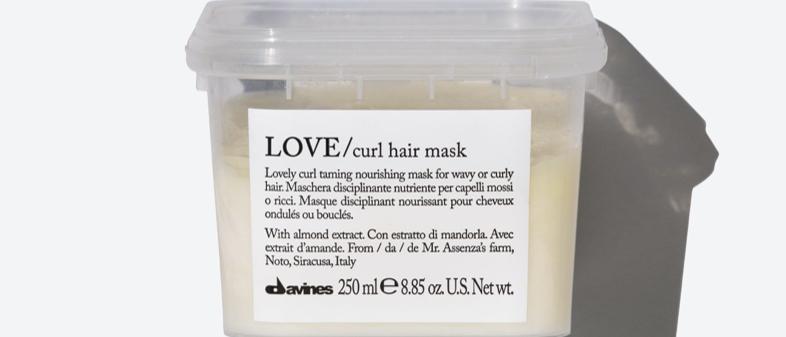 LOVE CURL Mask
