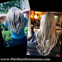 Gorgeous Blonde Extensions