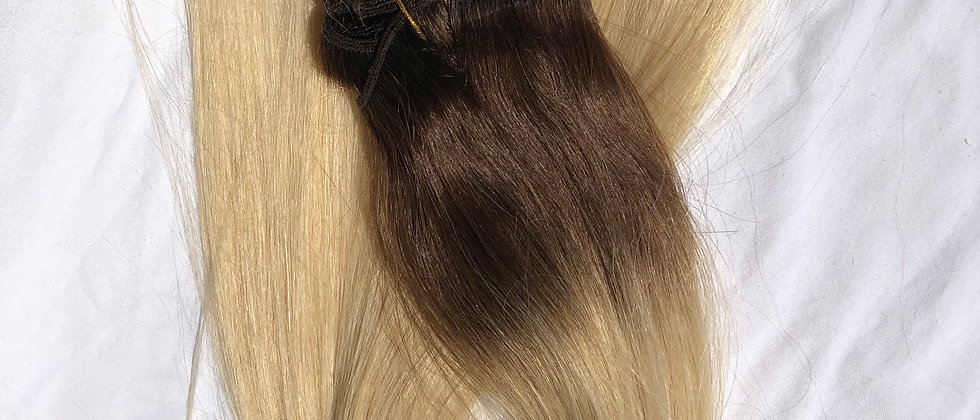 3/60 ombre' Clip in Hair Extensions