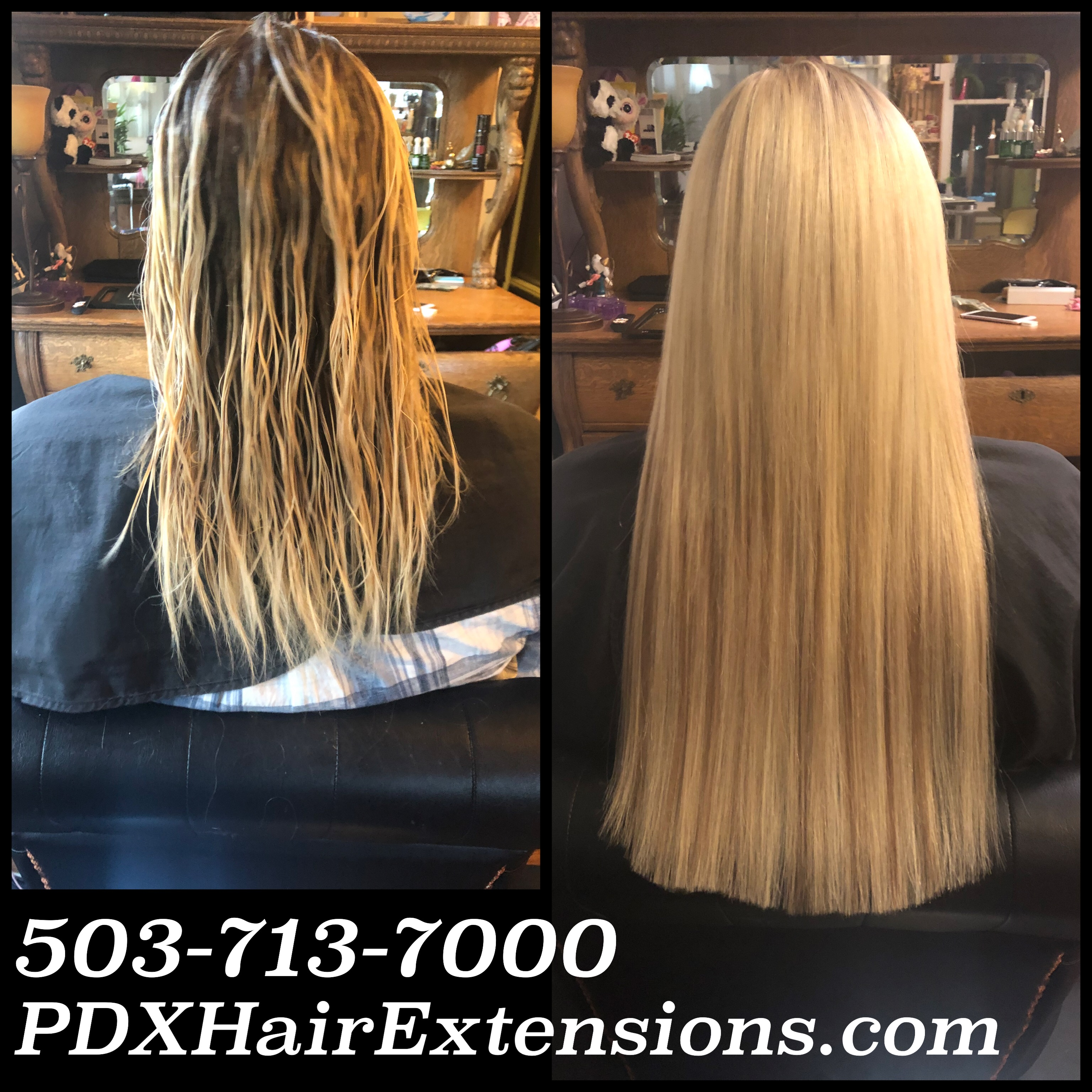 long blonde hair extensions