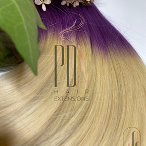 PDX Hair Extensions lavender_60 Ombre.jp