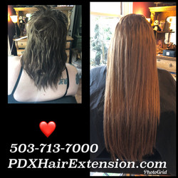 full over the head extensions