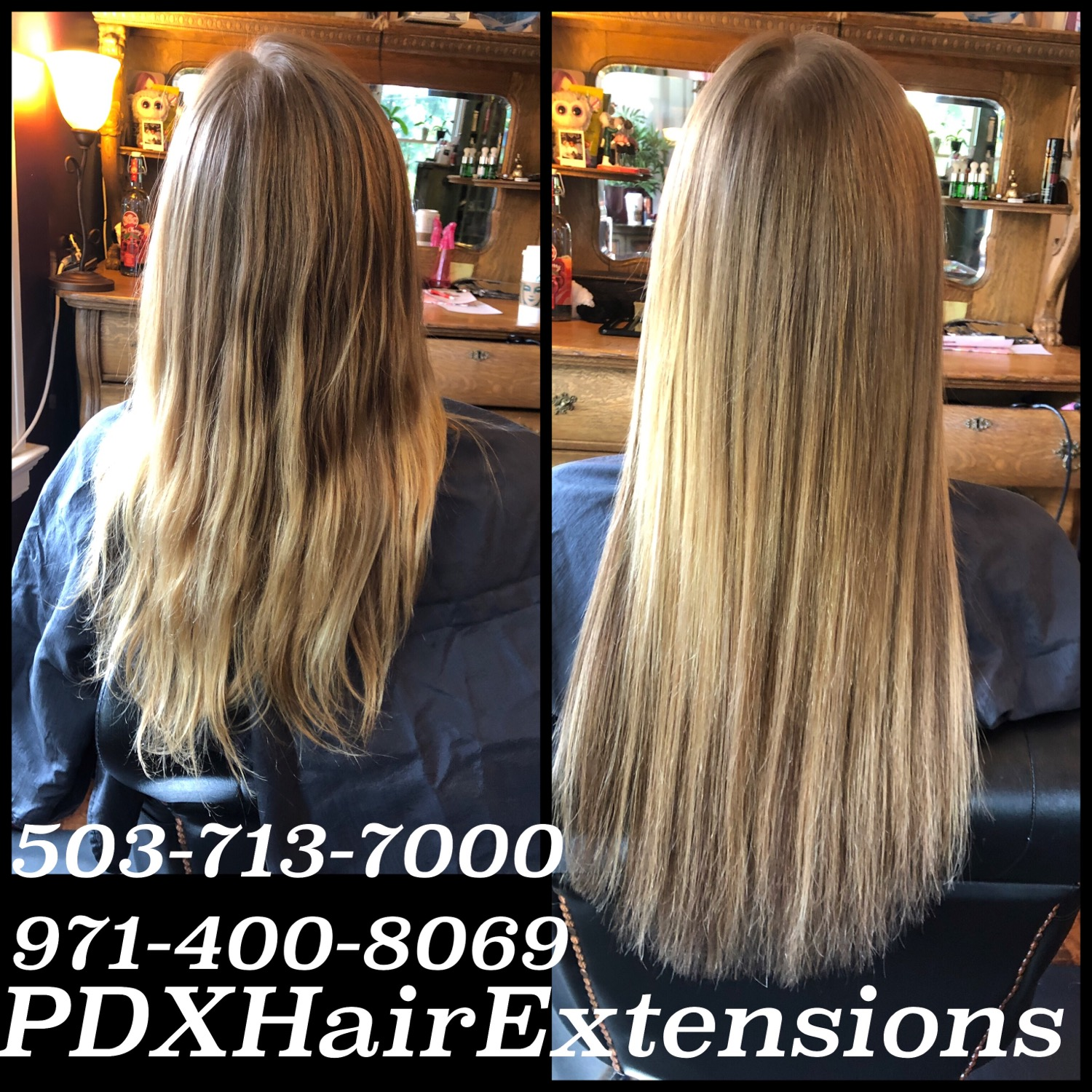 Before & After: Golden Extensions