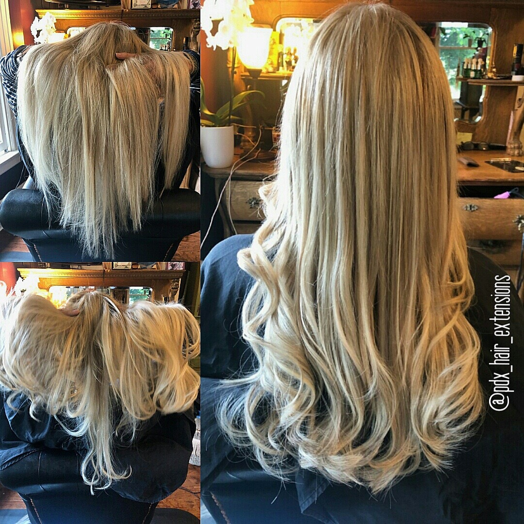 Perfect Blonde Hair Extensions