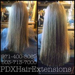 Before & After: Champagne Extensions