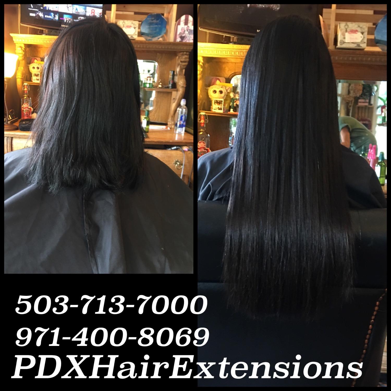 Black/brown Extensions