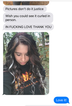 Client Reviews: Brown Extensions