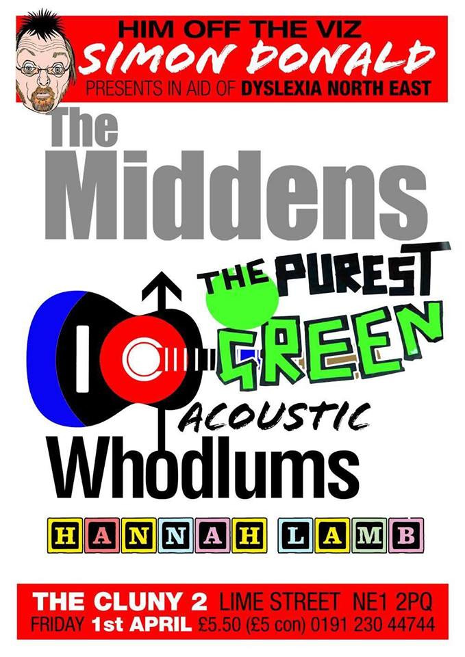 New Show Announced - The Middens