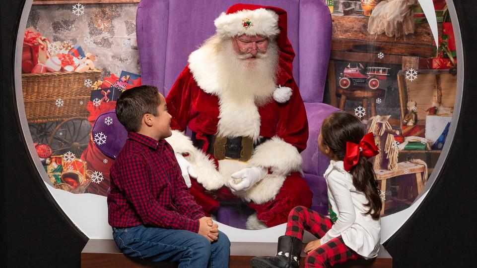 Santa Visit - 2020
