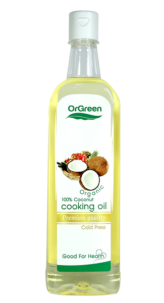 Coconut Cooking Oil 100% 1000ml