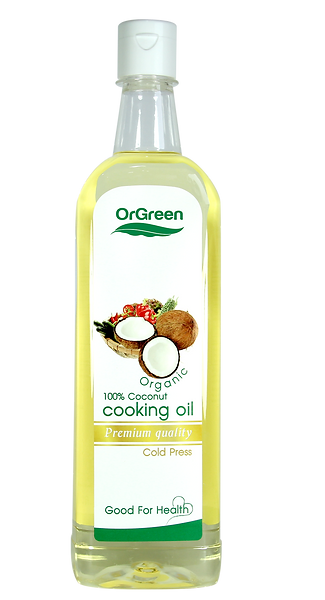 Coconut Cooking Oil 100% 500ml