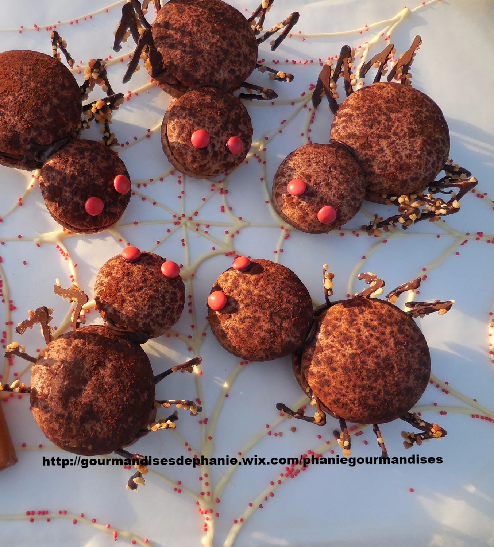 araignées caramel