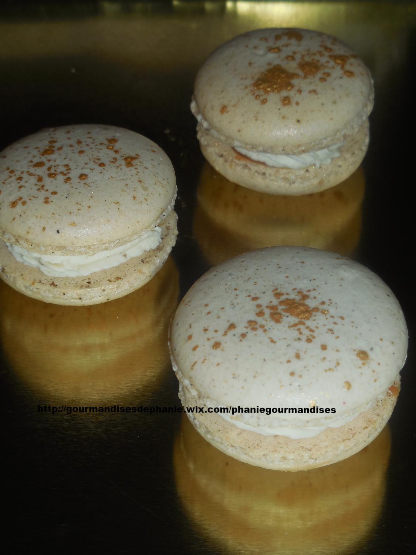 macarons vanille tonka cœur caramel