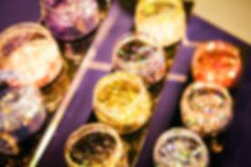 Sparkle & Co.'s Chunky Glitter Display