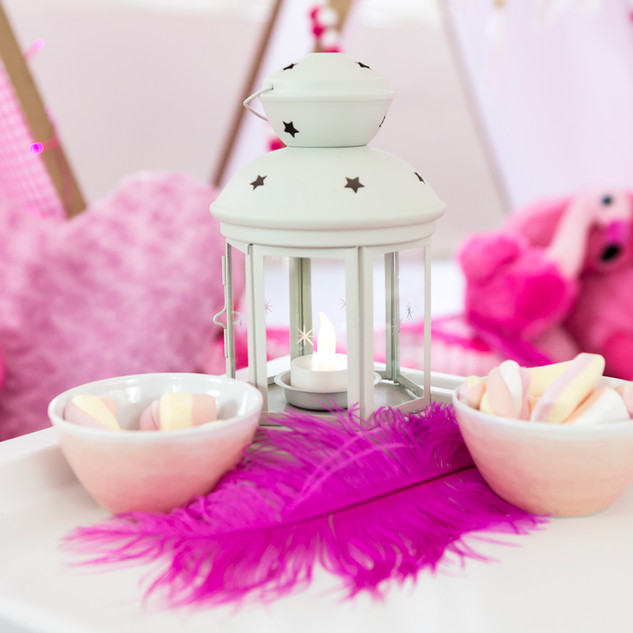 Breakfast Tables with cute accessories