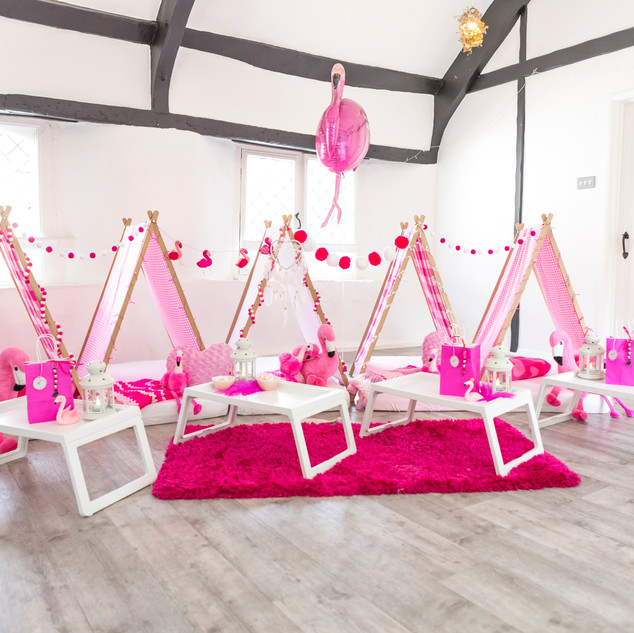 Hire up to 8 teepees!