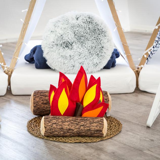 Cute campfire