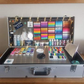 Sparkle & Co.'s Face Painting Kit