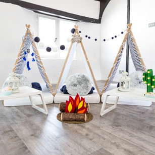Handcrafted Oak Teepees