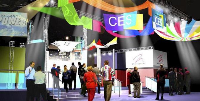 CES 2002 entrance design