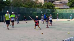 硬式テニス夏の部(短期教室)