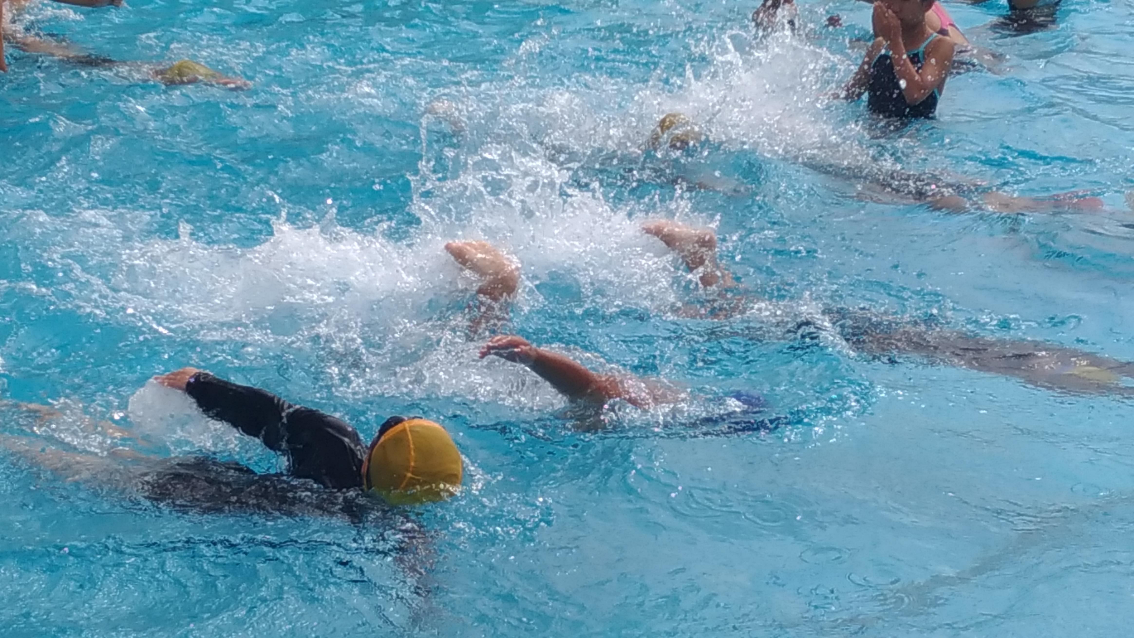 夏の水泳教室(短期教室)