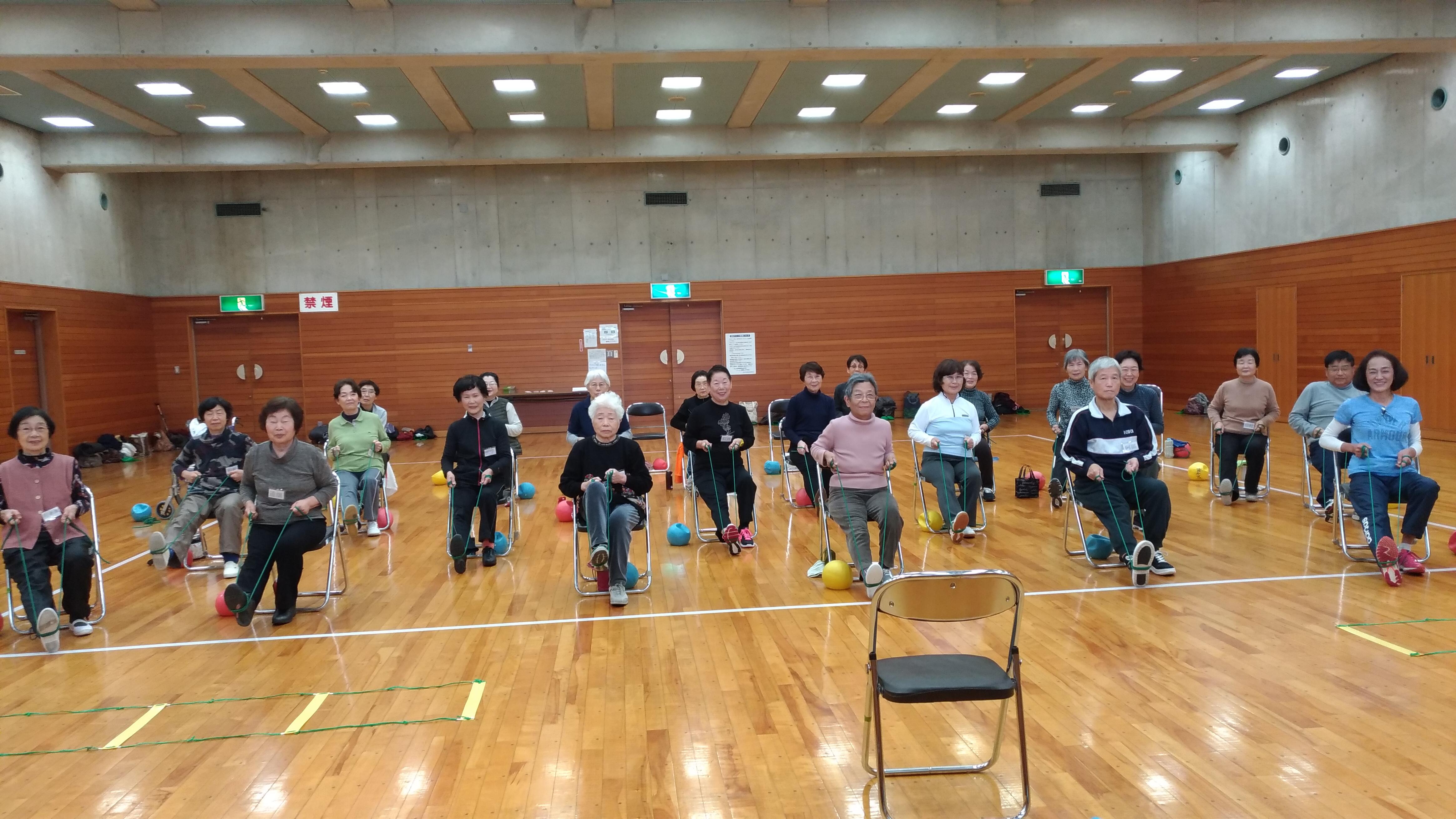元気をつくるシニアの健康体操