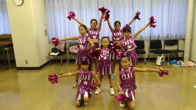チアダンス!中上級クラスがイベントに出演します!