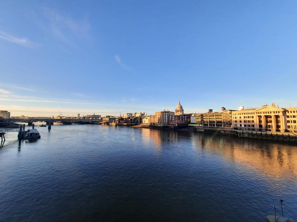 View of London from Southwark Bridge