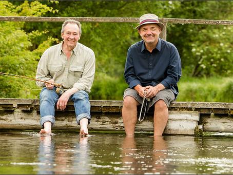 Mortimer and Whitehouse: men fishing, men talking