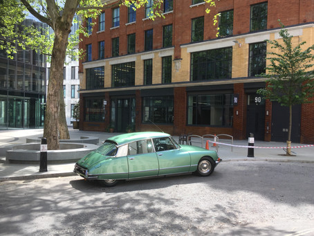 Clerkenwell car is something old and something new... like therapy online?