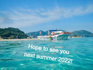 Hopefully we will meet again next summer 2022
