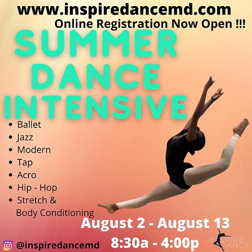 Summer Dance Intensive (1 week)