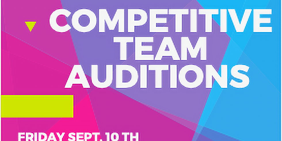 21-22 Inspire Dance Competition Team Auditions