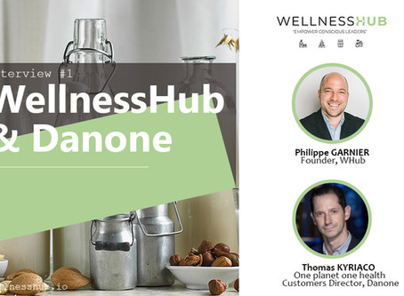 Conscious leader interview with Thomas Kyriaco, Danone