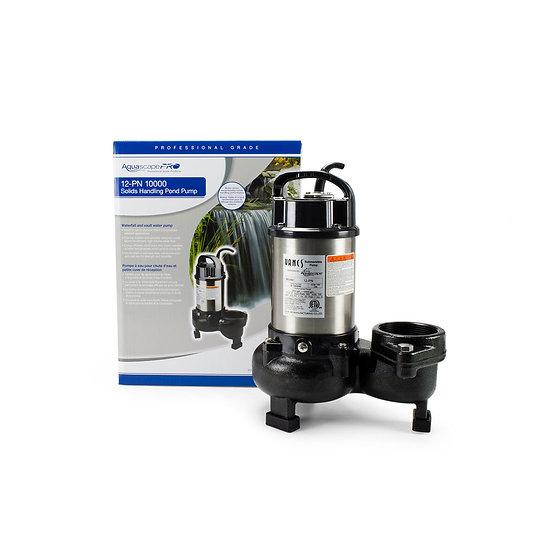 12-PN 10000 Solids-Handling Pond Pump