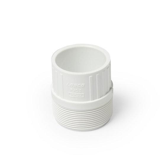 PVC 2″ MPT X 1-1/2″ Slip