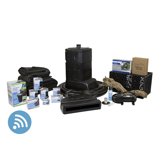 Large Deluxe Pondless Waterfall Kit 26′ Stream