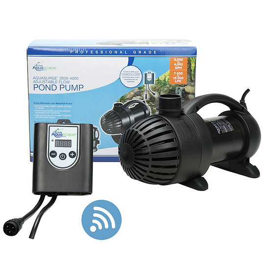 AquaSurge® Adjustable Flow Pond Pump 2000-4000