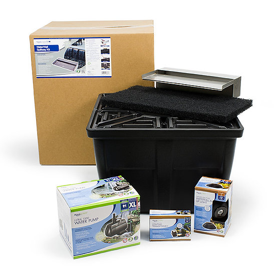 Stainless Steel WaterWall Spillway Kit
