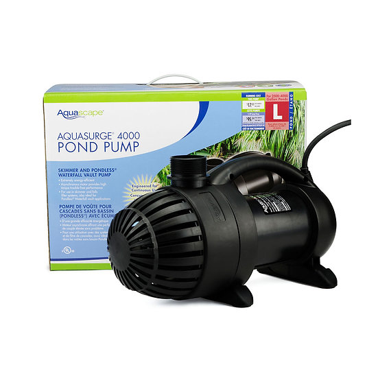 AquaSurge® 4000 Pond Pump