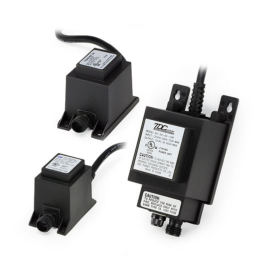 12V Quick-Connect Transformers