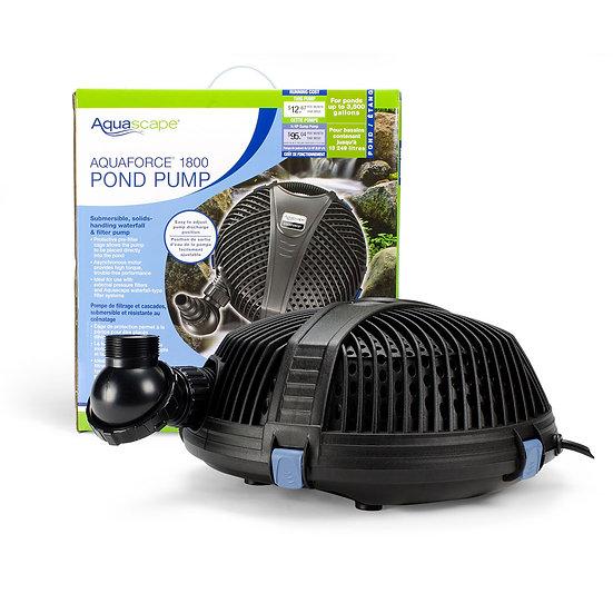 AquaForce® 1800 Solids-Handling Pond Pump