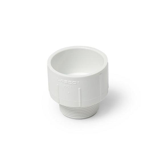 PVC 1-1/2″ MPT X 2″ Slip