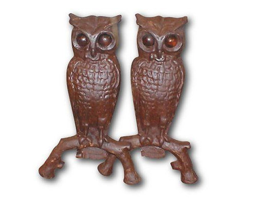 Owls w/ Glass Eyes