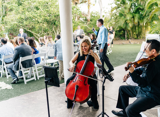 Real Wedding Review: String Duo at Mixon Fruit Farms in Bradenton, FL