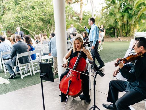 Real Wedding Review: String Duo at Mixon Fruit Farms in Bradenton, FL